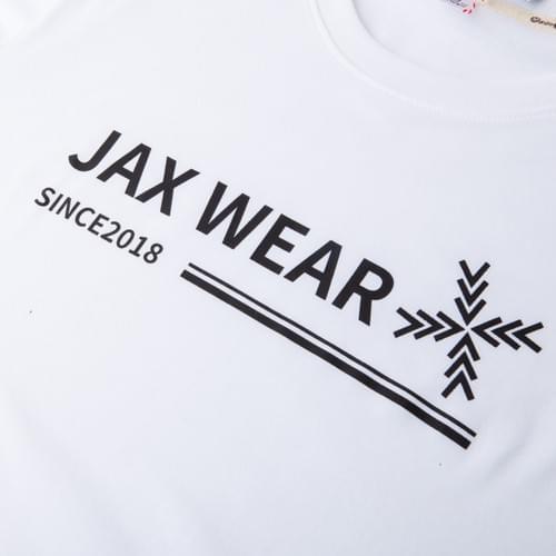 JAX WEAR signature T-shirt 白