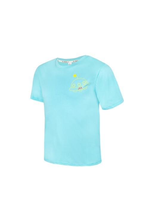 JAX WEAR 幽浮 T-shirt 湖水綠/白
