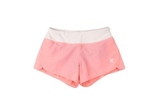 蜜桃粉運動短褲