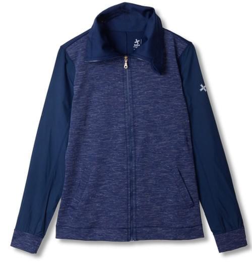 Astro Mixed-Media Zip Jacket 星空藍運動外套