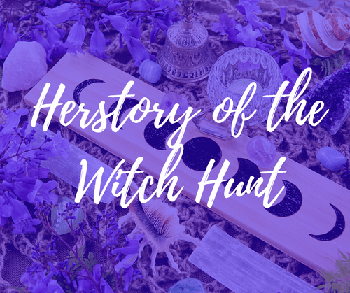 Herstory of the witch hunt| 6th September|webinar (5,9€)