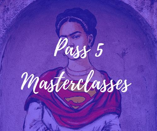 BON CADEAU : Pass 5 Masterclasses en ligne (35€)