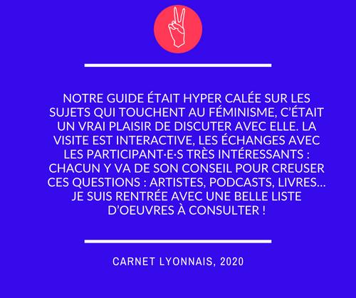 Visite féministe de Lyon