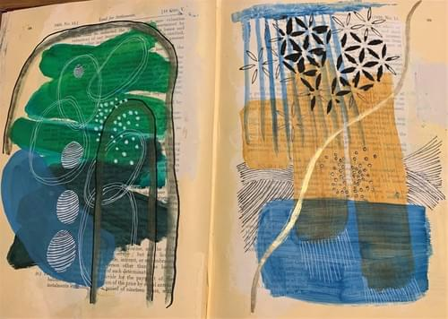 Sat 20 & 27 Feb 9.30am to 1pm Upcycle Books into Art Journals