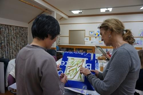 WED NIGHT 21 Oct to 9 Dec Keen Beginners in Watercolour - Robyn