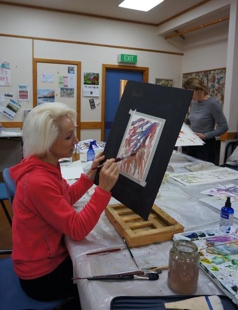 WED NIGHT 21 Oct to 9 Dec Advanced Beginners Watercolour - Robyn