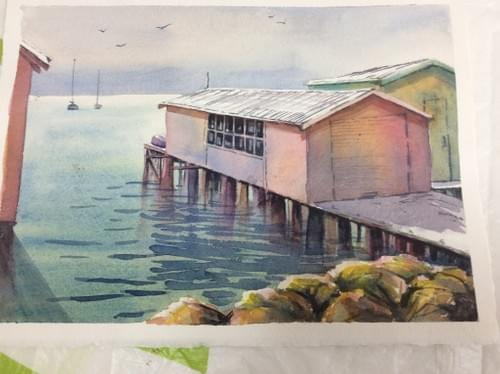 Term 1:Tues 9 Feb until 30 Mar Watercolour Painting - Tutor: Robyn Eastgate-Manning