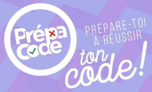 "Accès code en ligne ""prépacode"""