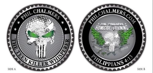 Phil Chalmers Challenge Coin