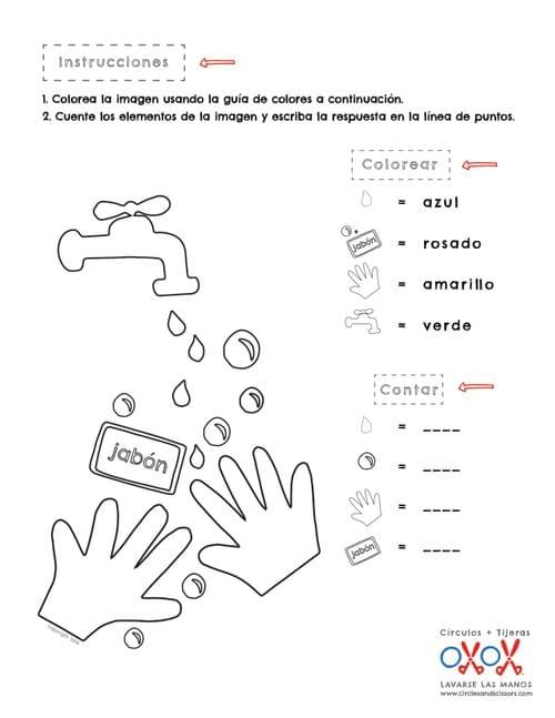 Spanish Curriculum   Circulos + Tijeras
