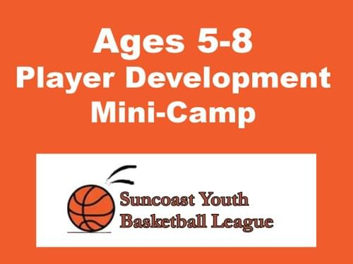 Suncoast Basketball Mini-Camp, Ages 5-8