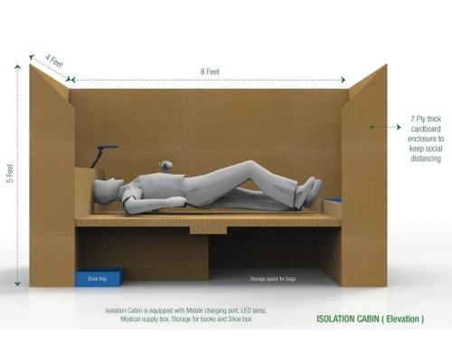 Isolation cabin