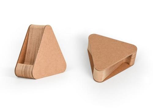 Triangle holder
