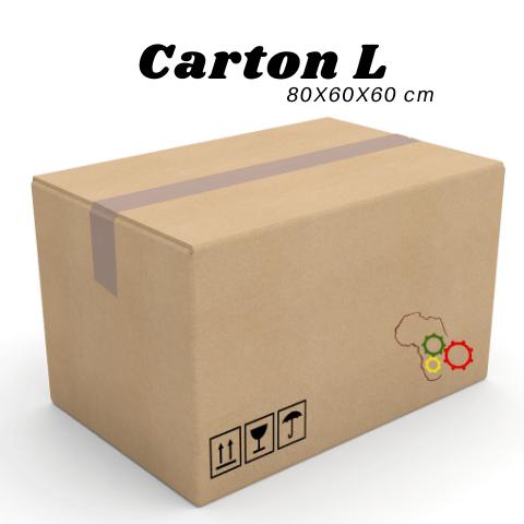CARTON L ( 80 X 60 X 60 CM)