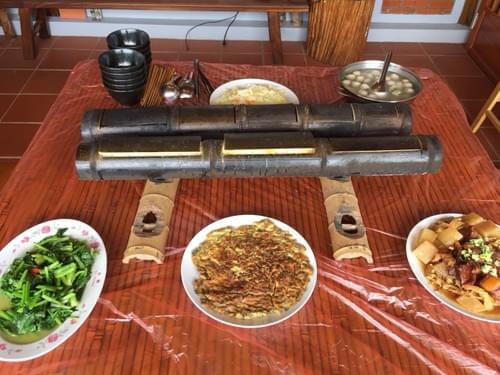 漢臣民宿 - 小半天竹筒飯(10人/桌)