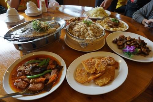 鹿谷小半天の幸福美食大餐(10人份)