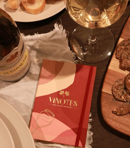 VINOTES Wine Tasting Notebook