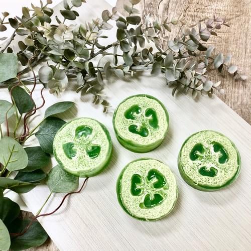Eucalyptus Peppermint Exfoliating Loofah Soap