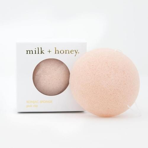 Pink Clay Konjac Sponge