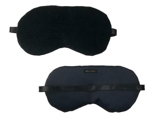 Black Velvet Eye Pillow