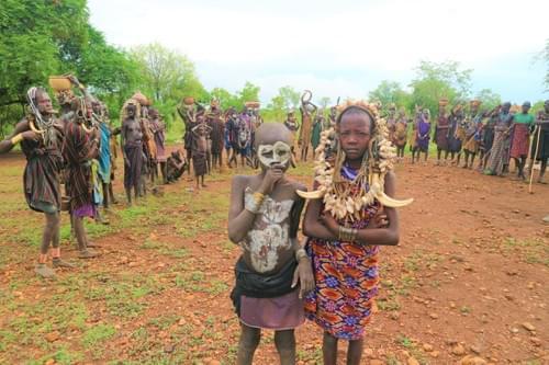 エチオピアの少数民族にマスクを!