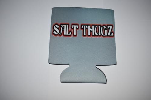 Dark gray Salt Thugz Koozie Grafitti Logo