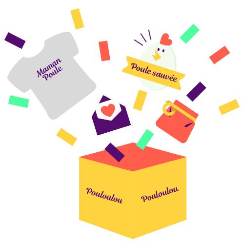 Coffrets cadeaux Pouloulou - Livraison incluse en France métropolitaine