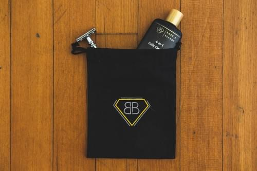 Bare & Beards Drawstring Bag