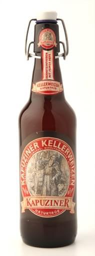 超高級ドイツビールの決定版!カプツィーナ ケラーヴァイツェン500mlスイングトップ瓶