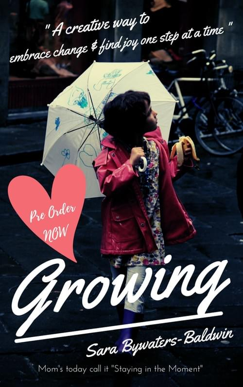 "Instant Download: ""Growing"" For Busy Moms (Pre Order Now)"