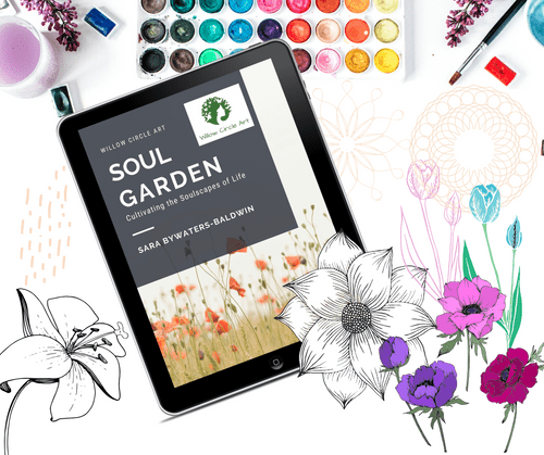 ($920!): June 2021, E Course: Soul Garden - 6 month Series w/ Weekly Support from Sara