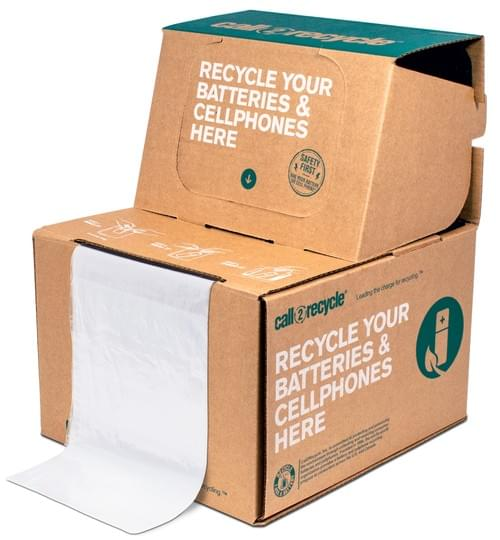 Battery & Cellphone Recycling Box - Large