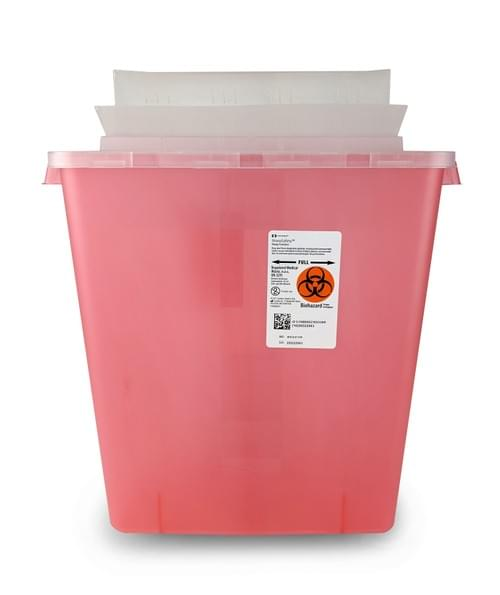 85221R - 3 GAL Red Sharps Container