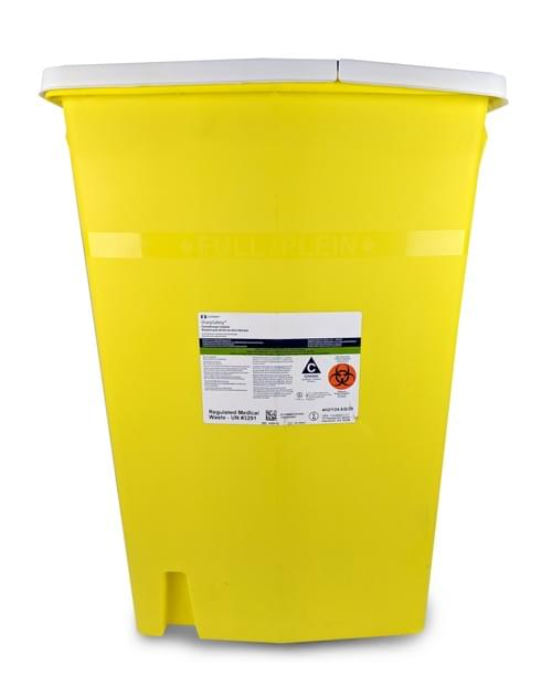 8989 - 18 GAL Yellow Sharps Container