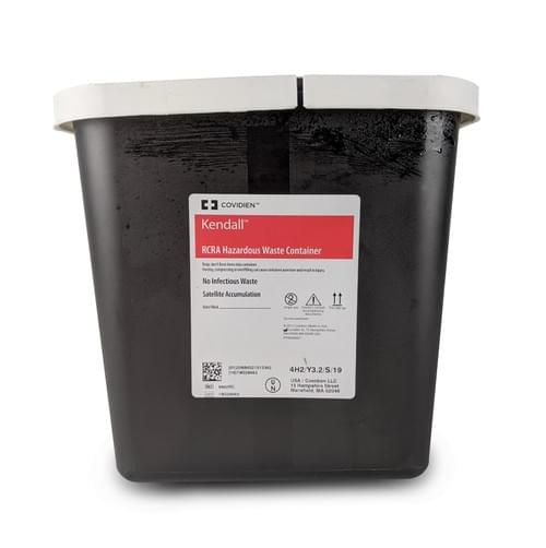 8602RC - 2 GAL Haz Pharmaceutical Waste Container Black