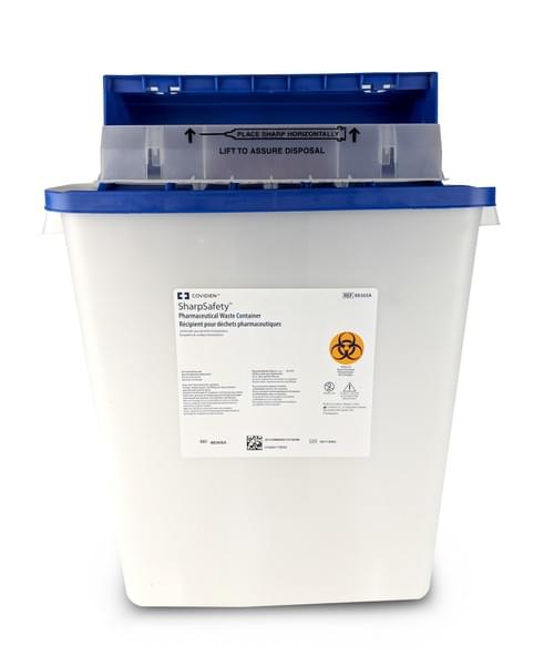 8836SA - 3 GAL Non-Haz Pharmaceutical Waste Container White