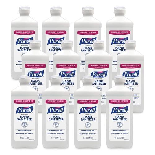 PURELL®  Advanced Hand Sanitizer Refreshing Gel, Clean Scent, 16 fl oz Flip Cap Bottle