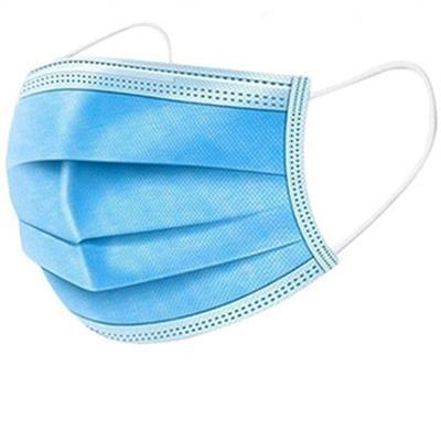 FACE MASK BLUE 3PLY 50/BX