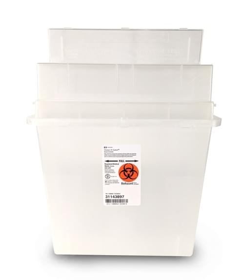 31143897 - 5 QT Clear Sharps Container