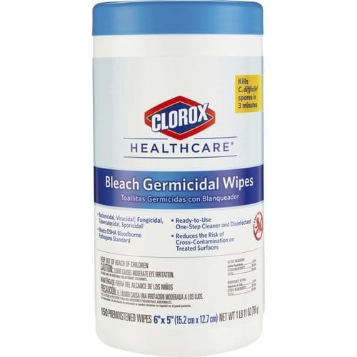 CLOROX 30577 6X5 GERMICIDAL BLEACH 150/CN 6/CS