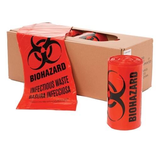 4046 - 30 GAL 40 X 46 Red Bags - 150 per case
