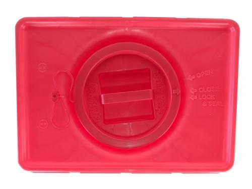 MB-600 - 18 GAL Red Sharps Container
