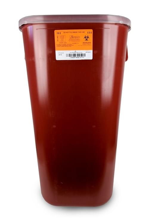 8716 - 16 GAL Red Sharps Container