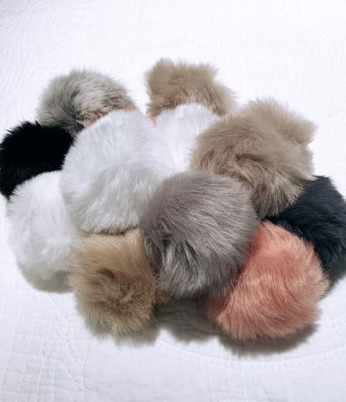 Small Faux Angora - 6 colours