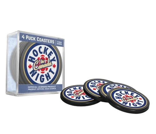 HNIC Puck Coasters - Current Logo