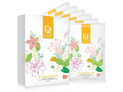 Dr. Hsieh Mandelic Flower Whitening High Concetration Mask [6 pcs/pack]