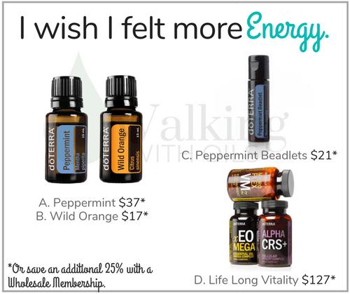 I wish I felt more Energy