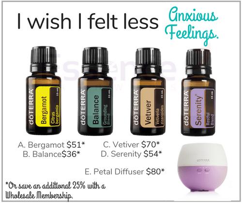 I wish I felt less Anxious Feelings
