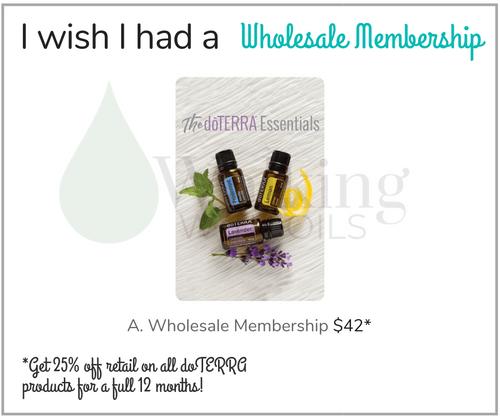 I wish I had a Wholesale Membership
