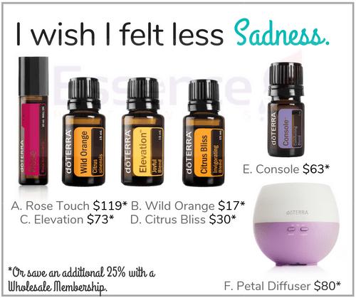 I wish I felt less Sadness